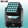 25x15W 4inl led dj stage wash light mixer zoom moving head with DMX512 for light show