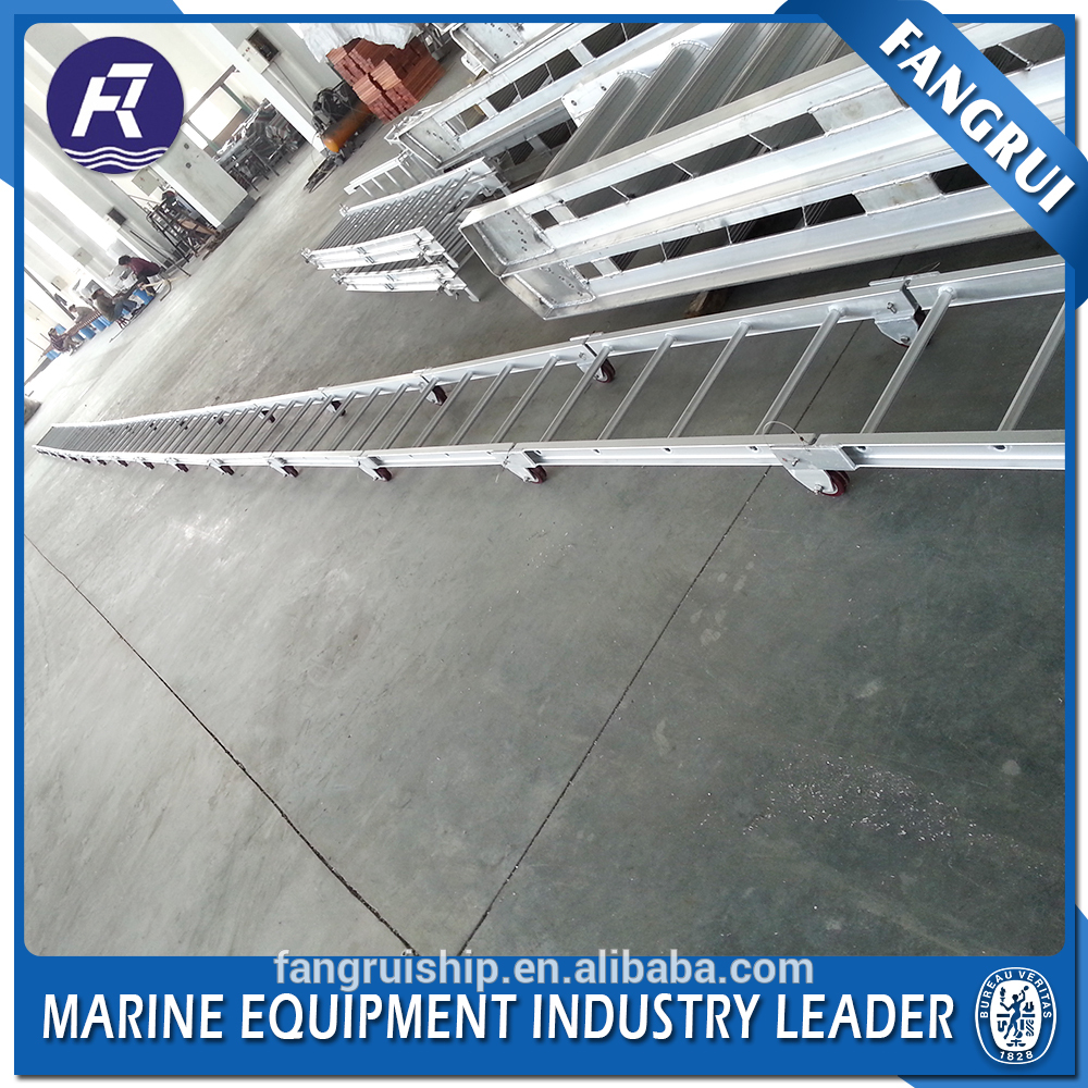 Direct factory price vertical trestle aluminum marine ladder