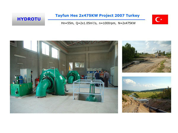500KW Hydro power Plant Project