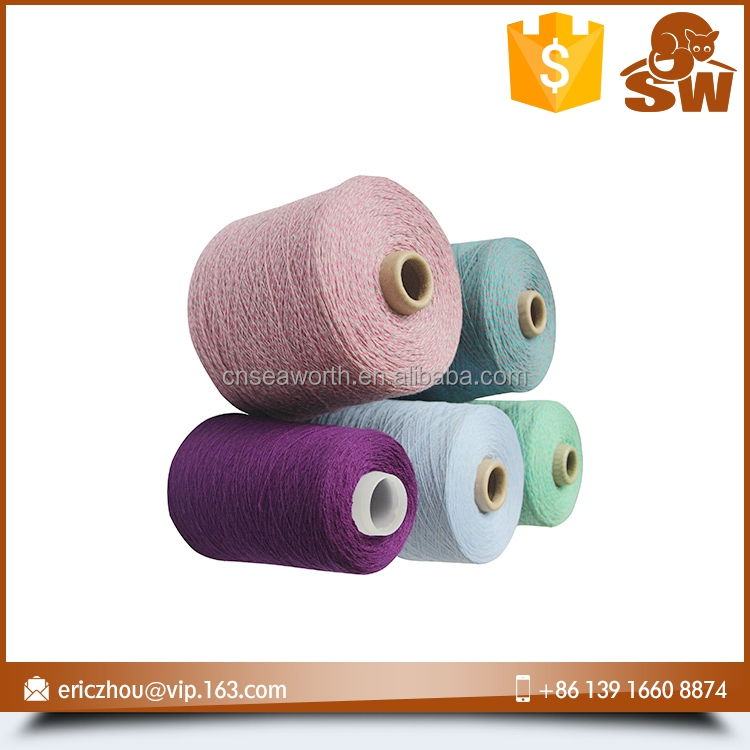 Factory directly oem colorful cashmere tops for yarn spinning