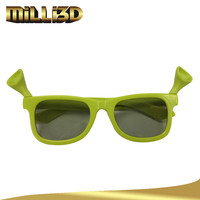 circular polarized 3D glasses for kids watching