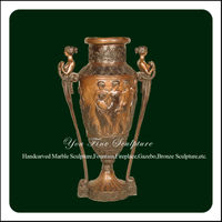 Classic Anqitue Bronze Flower Vase