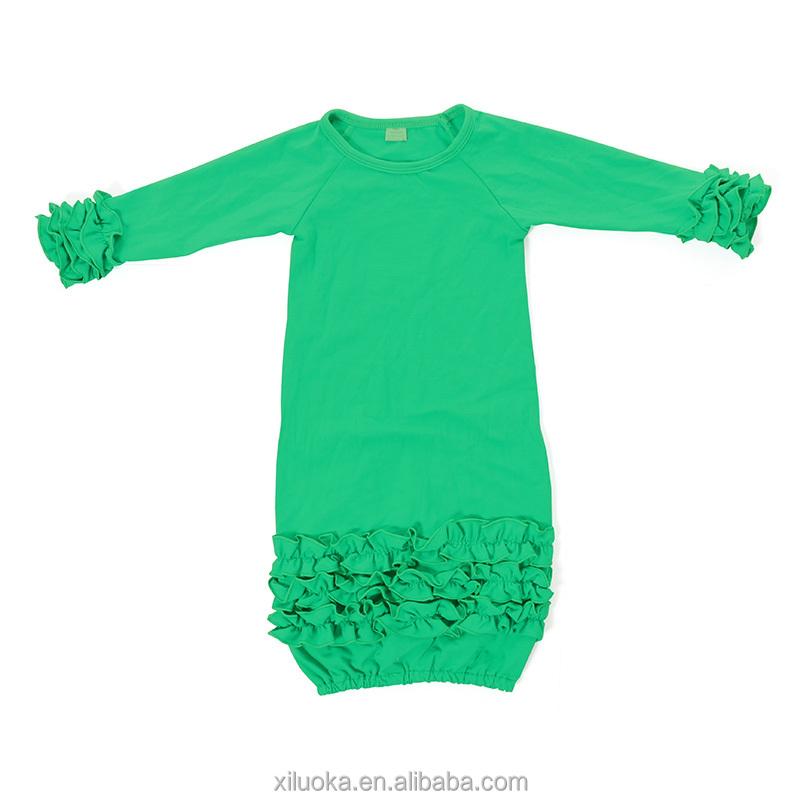 List Manufacturers of Newborn Long Sleeve Gown, Buy Newborn Long ...