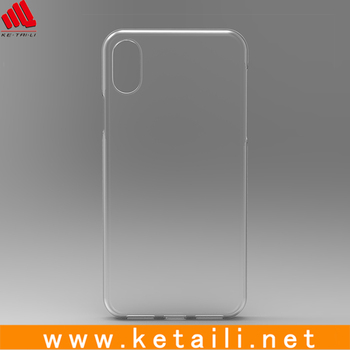 2017 for plastic clear iphone X case, Hard PC case for iphone X