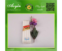 Aoyin brand name white stick candles to Iraq