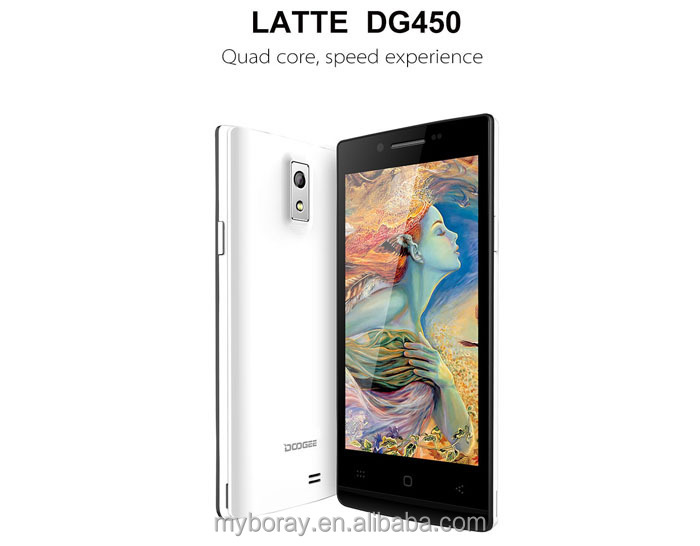 ultra-slim bar touch screen doogee dg450 basic function cell phone