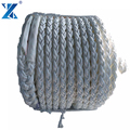 Floating on water 30 mm polypropylene rope 8-ply mooring ship rope pp boats used mooring rope