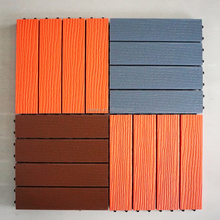 hot sales DIY tile wpc outdoor decking floor DIY as you like easy installation,Diy wpc decking,recycled material