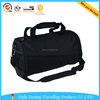 a large capacity durable basketball black sports bag with ball compartment