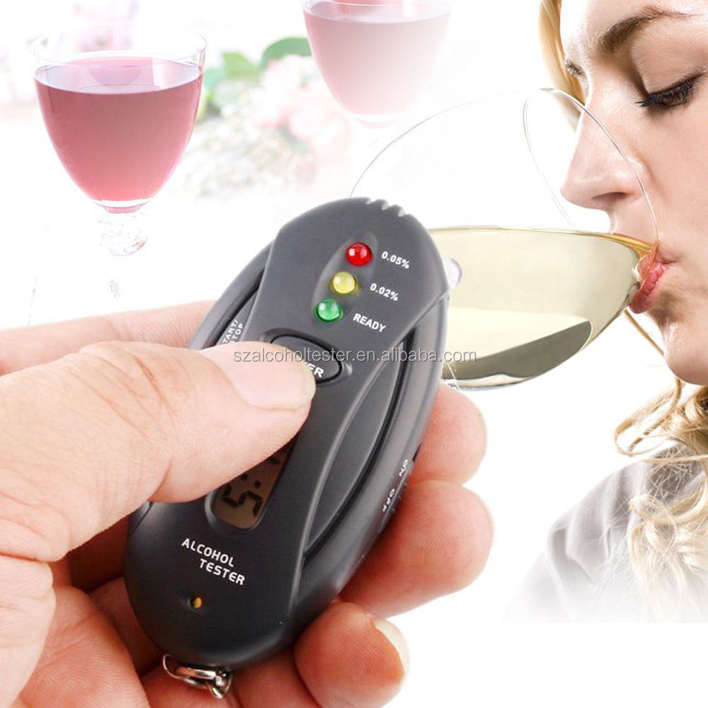 breath alcohol tester with red backlight alcohol tester in mulimeters alcohol tester for smartphone
