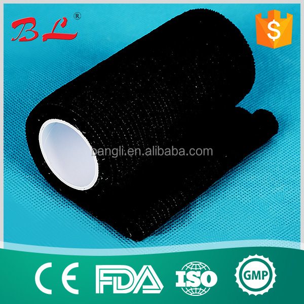 cohesive bandage manufacturer/adhesive bandage /non sticky /adhere to itself