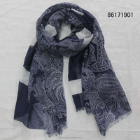 traditonal national ethnic style scarf women printted cheap long scarfs