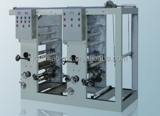 2 color rotogravure printing machine