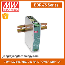 Mean Well Industrial DIN RAIL SMPS EDR-75-48 75W 48V DC Switching Power Supply