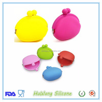 bulk wholesale silicone coin purse with freely logos