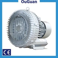 OuGuan 2.2KW 3HP 3 phase clean air running ring blower