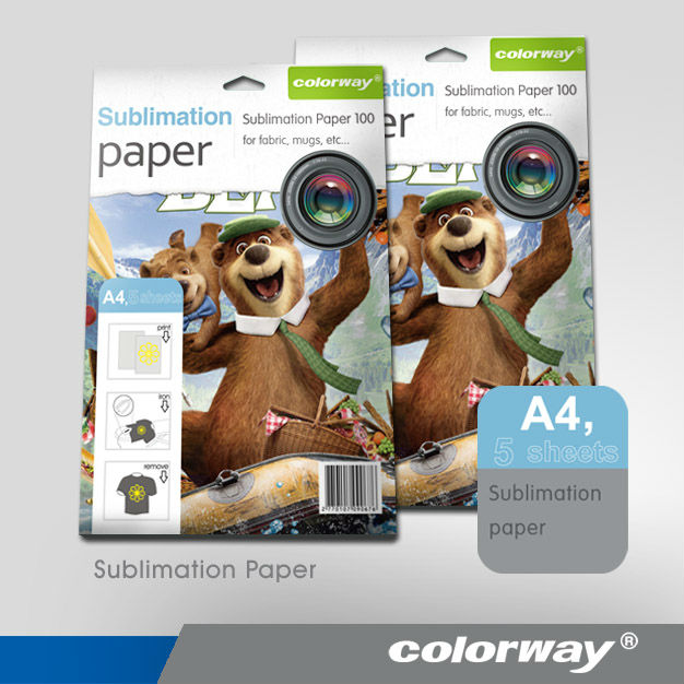 factory supply A4 sublimation glossy heat transfer paper
