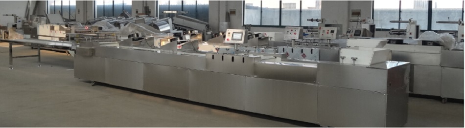 SUS material cereal bar production line