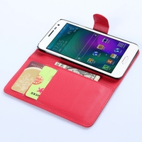 Special Cheapest pu leather cover for samsung a3 case