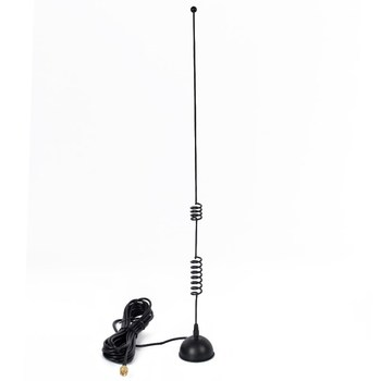 HYS SMA-male Dual Band 144MHz 430MHz Magnetic Mount Ham Radio Walkie Talkie Antenna for Baofeng UV-5R UV-82 BF-A58 UV-6R