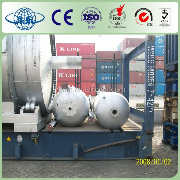 Automatic Pyrolysis Plant/Machine Used/Waste Tyre To Crude Oil