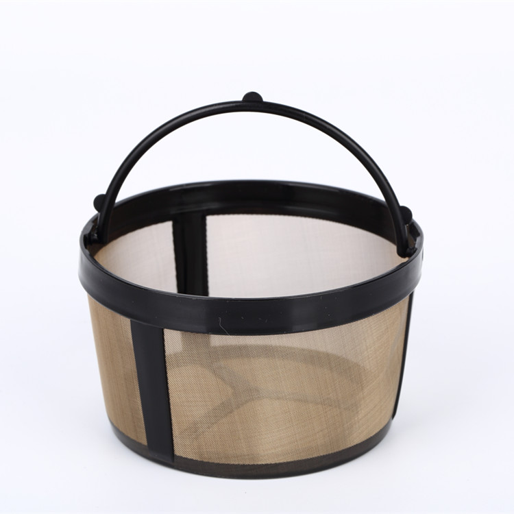 Donggguan Hot Sale Permanent Food Grade Stainless Steel Round Coffee Filter
