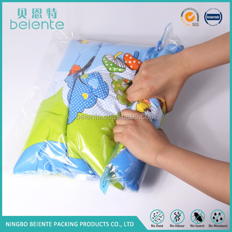 made in zhejiang super quality oem roll up vacuum storage bag