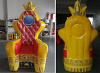 2016 Hot Sale Inflatable Party Chair, Inflatable Princess Chair For Advertising