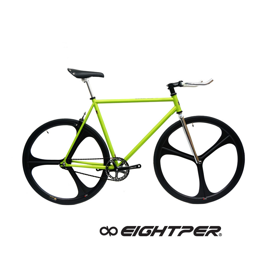 Ruder Berna EIghtper Taiwan Made Matt Pink 700C fixed gear complete bike bicycle tire