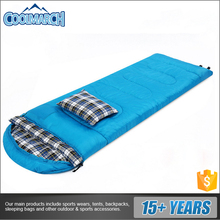 Cold weather light weight envelope sleeping bag outdoor travel