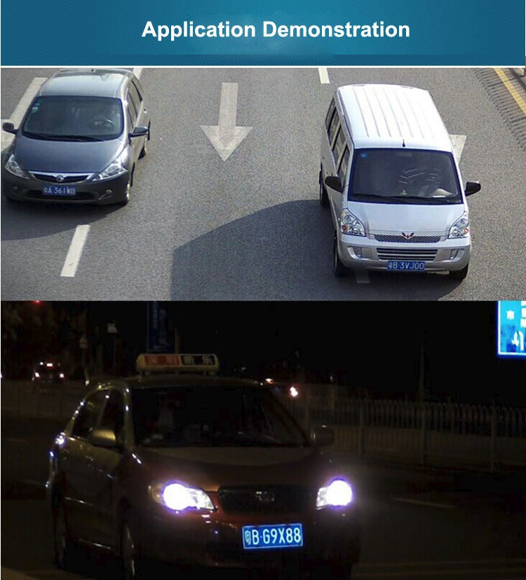 BenYuan Patented LPR ANPR Camera 2.0Megapiexls 1080P IP Highway and Parkinglot License Plate Number Recognition Camera