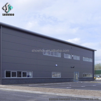 Corrugated steel building design sandwich panel house warehouse construction costs
