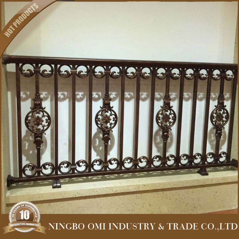 balcony railing/balcony stainless steel railing design/wrought iron grill design for veranda for sale