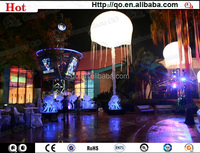 2014 new products inflatable jellyfish led stand light balloon for outdoor decoration