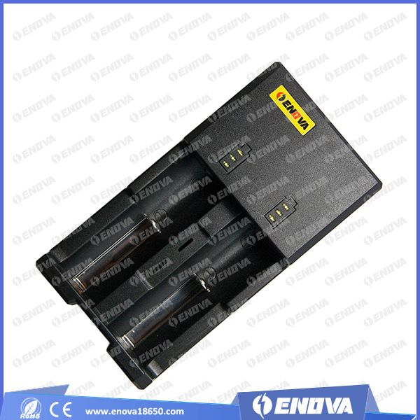 NEW ARRIVAL ENOVA ALL-21 Automatic battery charger with UK plug PK tomo 18650 battery charger