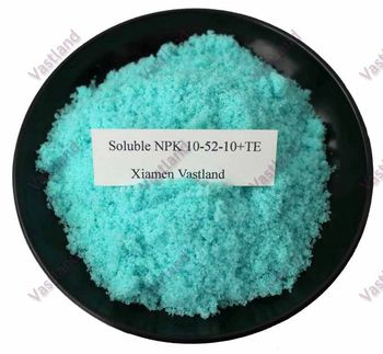 100% water soluble powder NPK 10-52-10 fertilizer