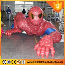 Hot sale advertising giant inflatable spiderman,spider man model,giant inflatable spider-man