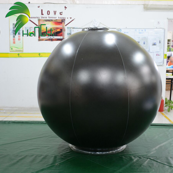 Balloon Type Soft PVC Black Inflatable Ball Suit For Sale