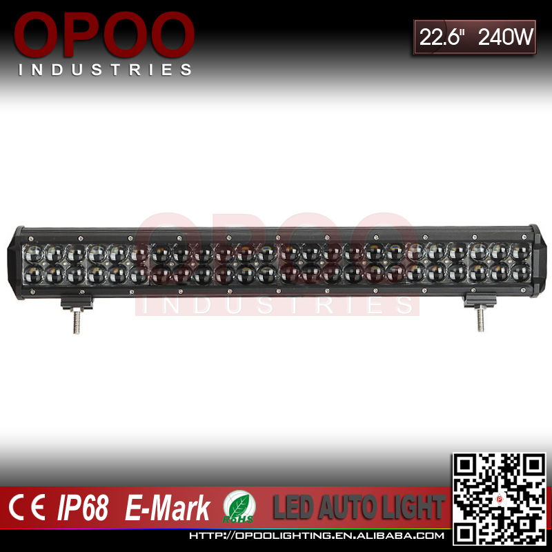 "Super bright 4d led light bar, 4D optic offroad 23"" 240w 4d led light bar"