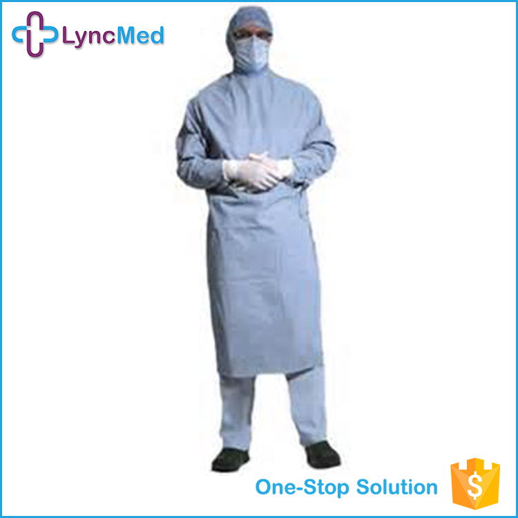 PP material patient gown for children PE visitor coat