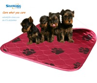High absorbent dog training pads dog pad washable and reusable
