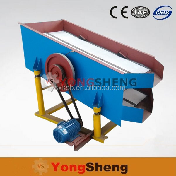 Iron Ore Concentration Plant Vibrating Sieve Screen Machine