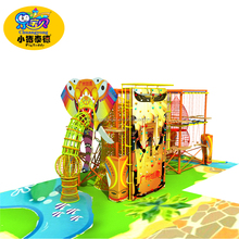 Low price china wooden game playground equipment for children