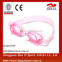 Custom Comfortable Silicone Swim Goggles With Smooth Gaskets And Streamline Frame