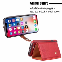 New Product Mobile Phone Accessories Flip Cover PU Leather View Case for iphone x