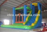 2014 new design inflatabe bouncer with slide, commercial inflatable combo, inflatables NC054