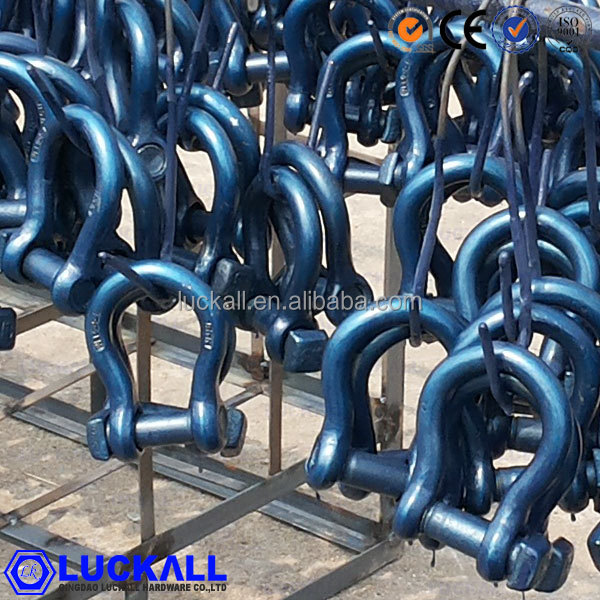 trawl bow shakle trawl d shackle stainless steel 316 trawl shackle