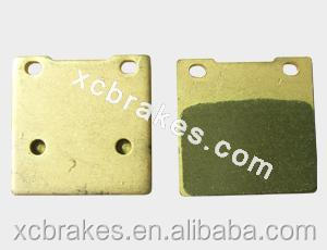 factory offering sintered Motorcycle brake pad suitble for KAWASAKI Z 250 A1/A2/A3
