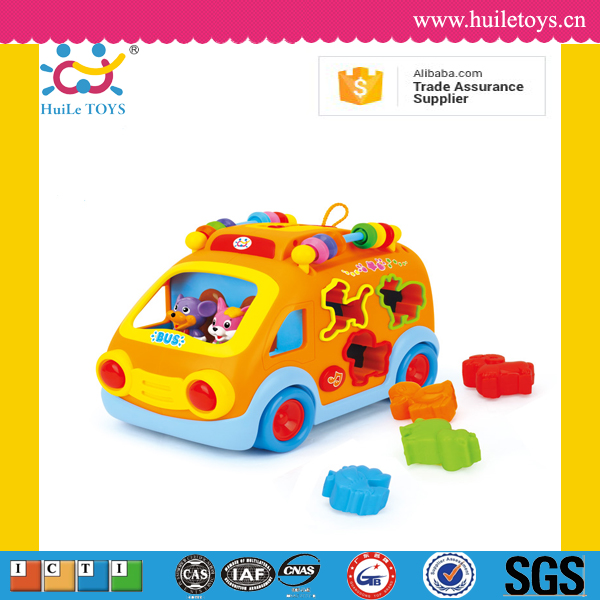 2016 Huile kid musical funny car toys with light