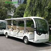 Easy operate electric shuttle bus for sale car tourism